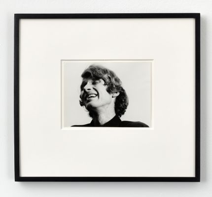 Study for I'm Too Sad To Tell You, 1971, Silver gelatin print, unique, 17,1 x 22,9 cm