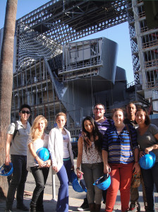 Building Technology class toured Emerson College Los Angeles