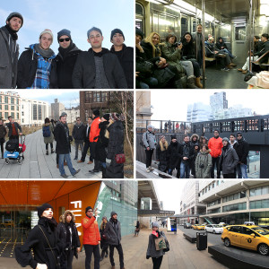 Seniors visited New York as part of their final Studio, Building/Landscape