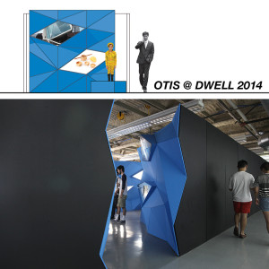 student works at Dwell on Design