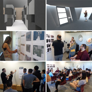 Students presented their Donghia Master Class projects