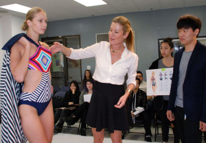 Final Fitting for Anne Cole