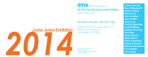 2014 Fine Arts Junior Juried Exhibition