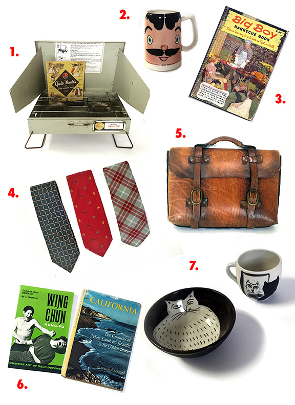 Groovy, vintage picks for dads. Image courtesy of NowSpace.