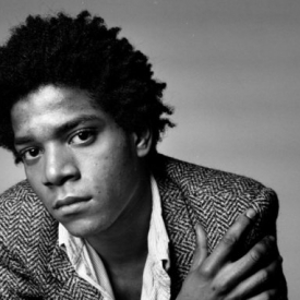 Jean Michel Basquiat. Photo courtesy of T-The New York Times Style Magazine.