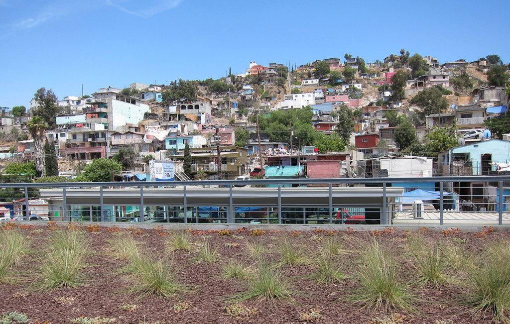 Camino Verde community, Tijuana.  Photo courtesy of Bill Kelley Jr.