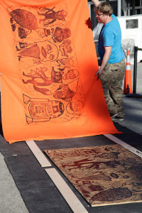Another Awesome Big Ass Prints Steamroller Event!
