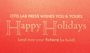 Happy Holidays from Lab Press!