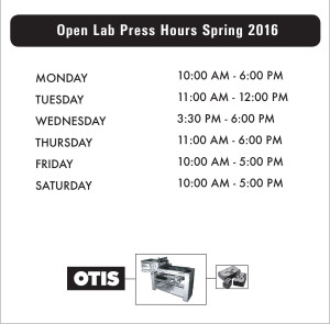 Open Lab HOurs
