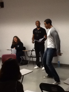 """Ade"" and ""Wade"" performing the scene ""Heft"" from BUNK."
