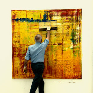 New Video: Gerhard Richter Painting