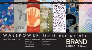 WallPower: Limitless Prints at The Brand Library Art Galleries