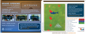 Grand Opening of The Frank Building this Thursday, May 17th Features Lots of Otis Artists!