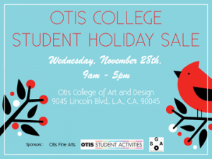 Otis 2012 Holiday Sale November 28th!