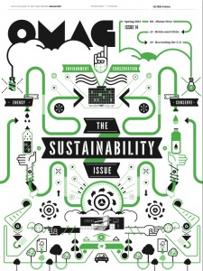 Check out the OMAG Sustainability Issue