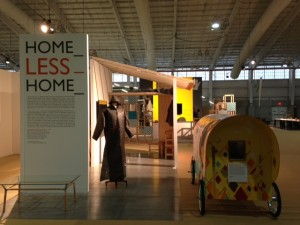 Otis Fashion Design projects exhibited at ICFF with PALS