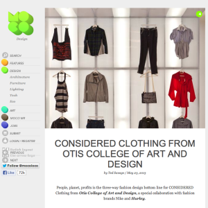 Otis Fashion Design featured on MOCO LOCO