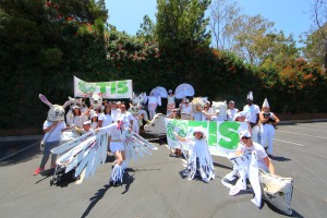 Sustainability elective summer class participates in Westchester 4th of July Parade