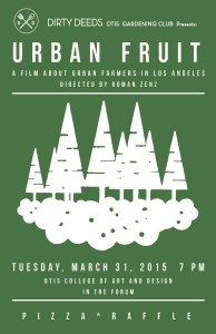 Film screening of the documentary Urban Fruit directed by Roman Zenz