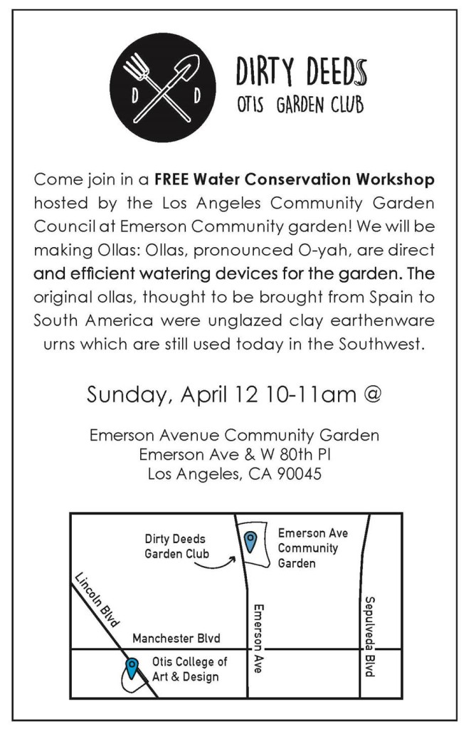 FREE Water Conservation Workshop