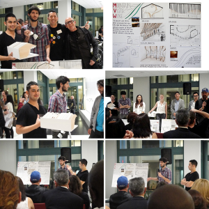 Students Win First Prize in a Competition