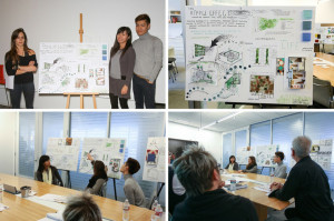 Senior Molly Hubley  won 2nd Place in the SoCal IIDA's 2014 Student Design Charette!