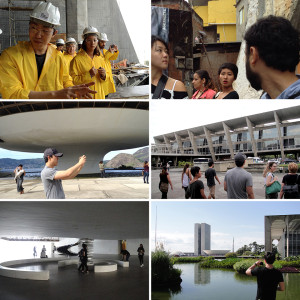 Nayungkhumla Chang and Jusung Park visited Brazil with Otis Travel Study Brazil 2014