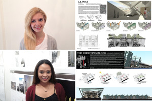 Merve Onur and Diana Gonong received Honorable Mentions in the Getting L.A. to Zero student competition