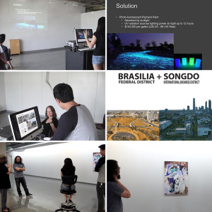 Brazilian Urbanism and its Future students presented their projects at a final jury, after returning from their trip to Brazil