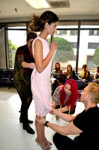 David Meister First Fitting Matte Jersey Dresses