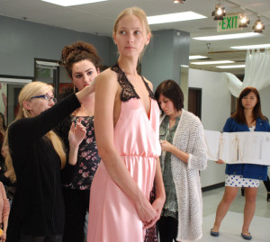 Final Fitting for Mary Jo Bruno