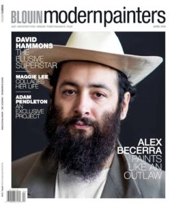 Alumni Alex Becerra Featured on the Cover of BLOUIN Modern Painters