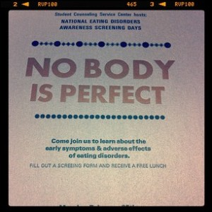 National Eating Disorders Awareness Screening Days