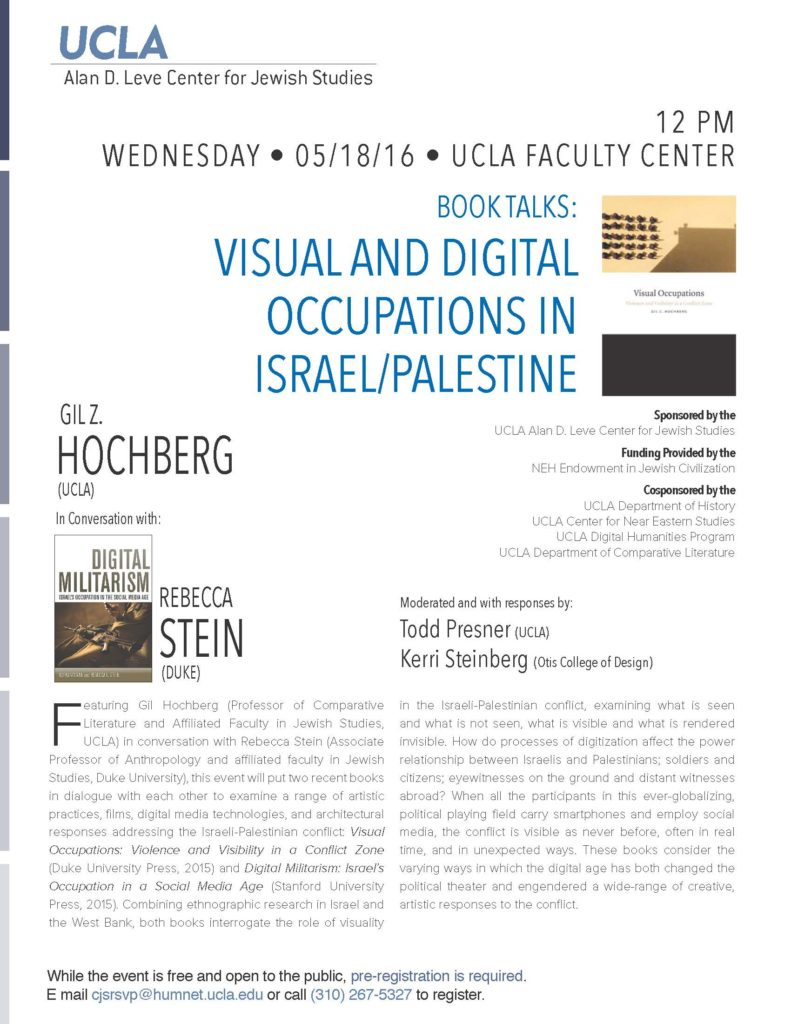 liberal arts and sciences college of art and design hochberg stein flyer