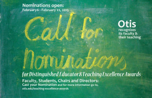 2015 Teaching Excellence Awards – Nominations Open